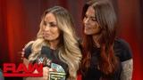 Trish Stratus &amp Lita reveal their WWE Evolution team name Raw Exclusive, Oct. 8, 2018