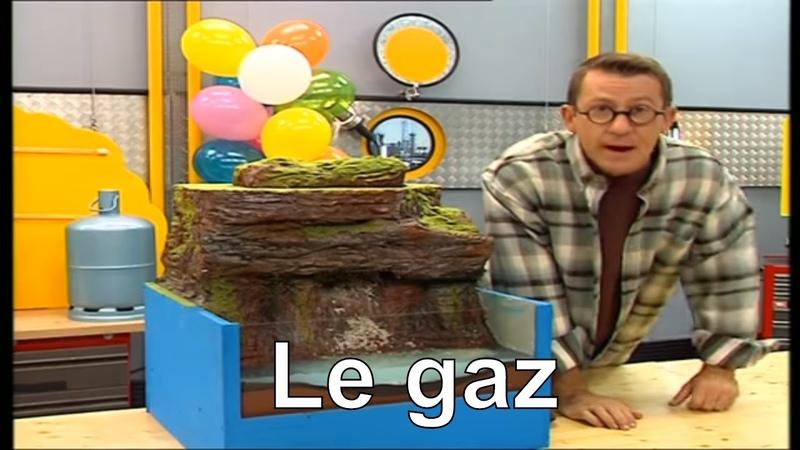 Comment se forment les gaz ? - C'est pas sorcier