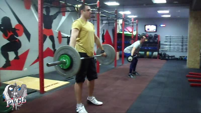 Тяжелая атлетика. Наработка рывкового подрыва с Сергеем Курниковым