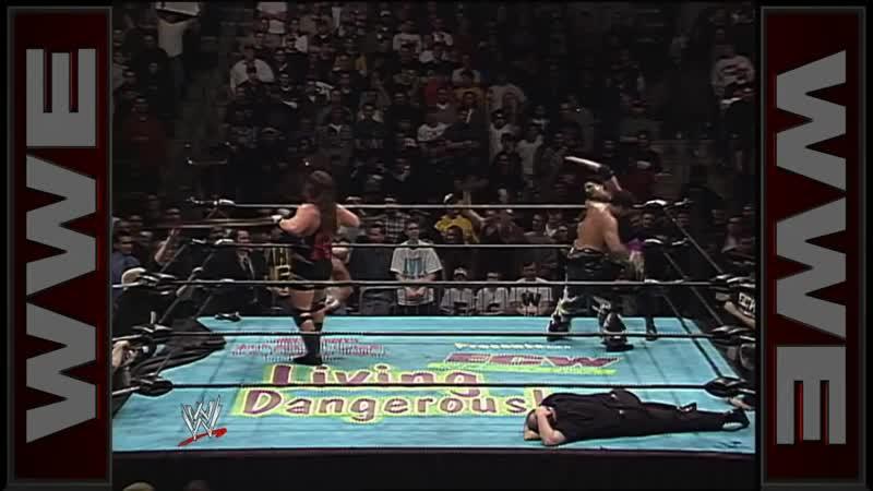 [My1] ECW Living Dangerously 2000 - Супер Крейзи против Райно