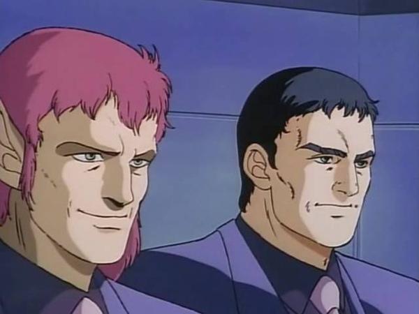 Guyver 1989 OVA, E04 [RUS, озв. С. Кузнецова]