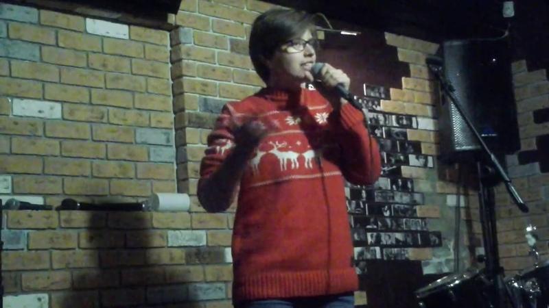 Мария Денисова на вечере Сергея Гарифуллина
