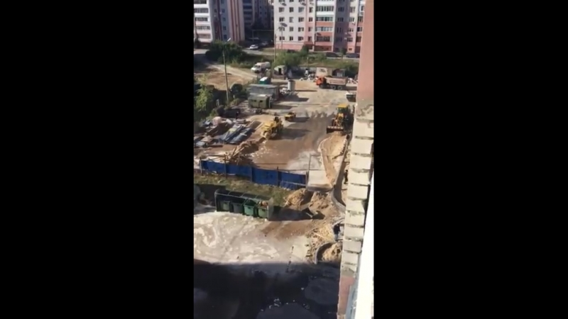 Жильцы дома на Удрица страдают из-за стройки