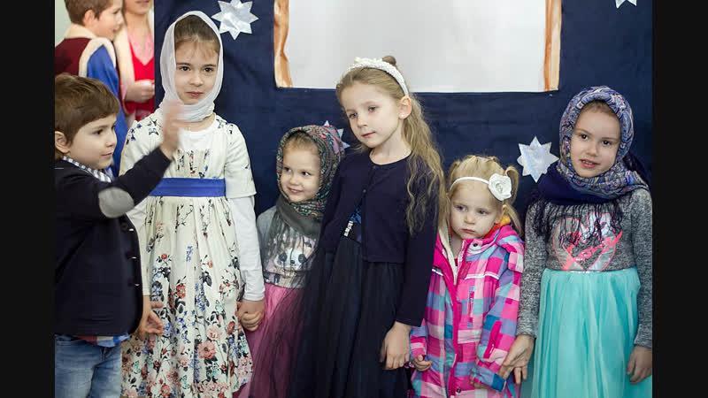 Рождественский концерт Воскресной школы Подворья Александро Свирского монастыря