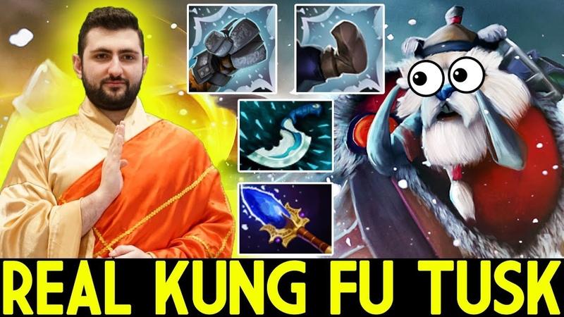 GH_God [Tusk] Real Kung Fu Tusk Support 7.19 Dota 2