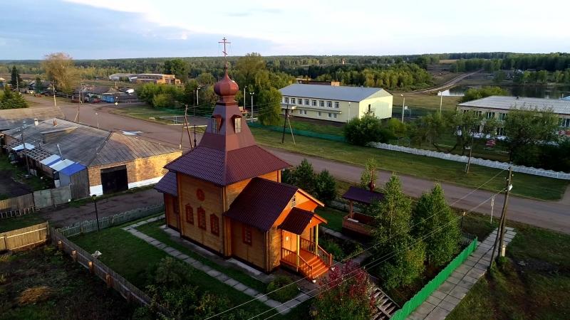 Храм святой равноапостольной Марии Магдалины (село Новогородка, сентябрь 2018)