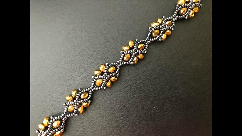 Unique Designer Beaded Bracelet 💞. How to make Bracelet 💞 DIY Beaded Bracelet
