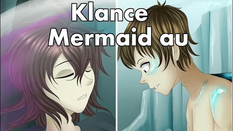 Klance mermaid au speedpaint by Lony art