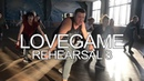 LoveGame rehearsal 3