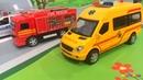 Мультики про машинки Учим машины полицейская скорая и пожарная машинки Мультфильмы для д