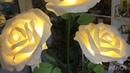 Стебель для тройного светильника Роза из изолона