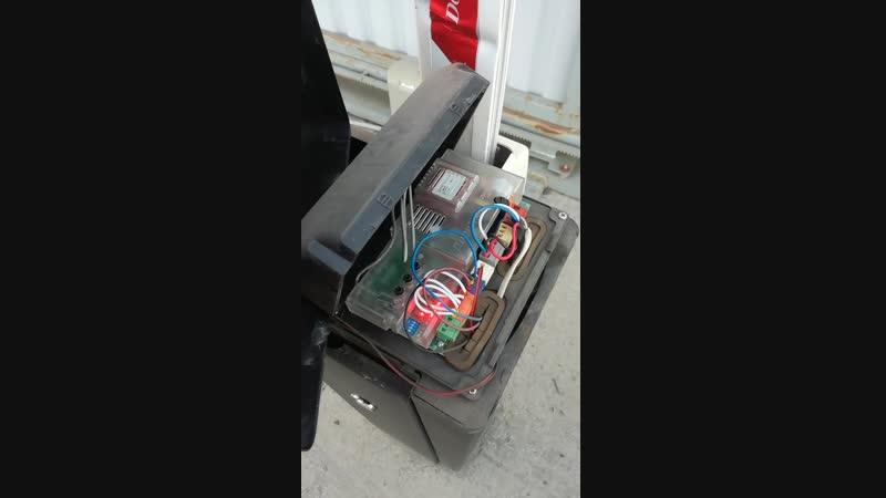 Программирование пульта Doorkey DH в шлагбаум Doorhan.