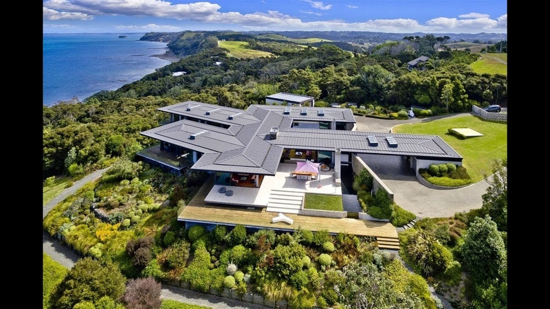 Majestic Cliff-Top Estate in Auckland, New Zealand | Sotheby's International Realty