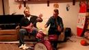 Отец и сын сели за инструменты подаренные дочери