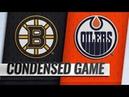 Boston Bruins vs Edmonton Oilers – Oct.18, 2018