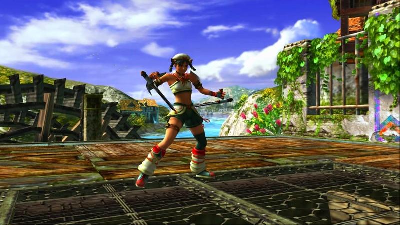Soul Calibur 3 1080p Talim Weapon Demo (GLSSmtNatBloom Shader)