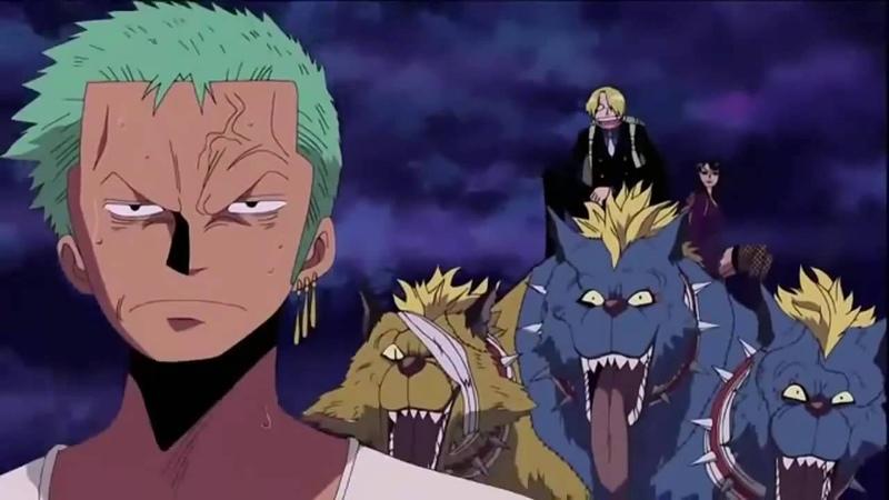 One Piece Funny Moments Thriller Bark Arc Sanji Mocking Zoro