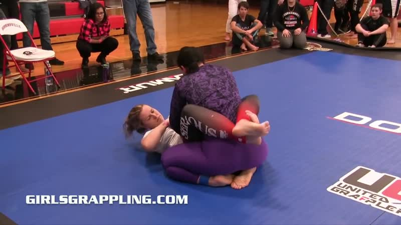 206 Girls Grappling No Gi Tournament Match Women Wrestling BJJ MMA Female Bou
