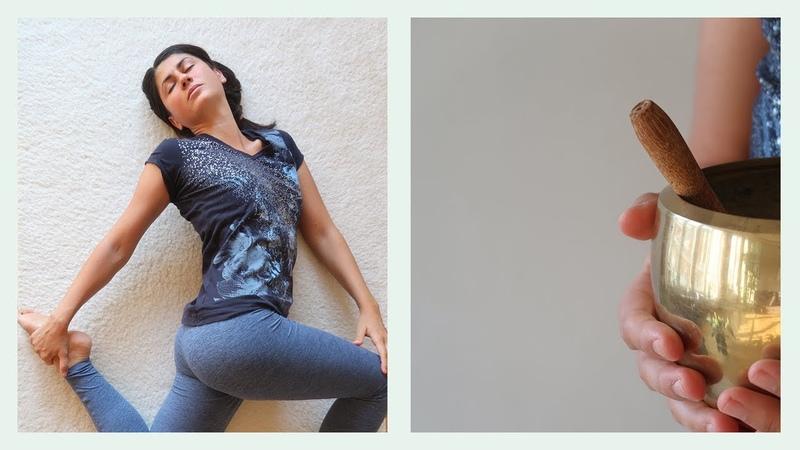 Ин йога за подут корем - Йога с Таня