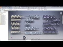 Create Bottle Feed Screws with Autodesk Inventor - Tutorial 3 - Shaft Taper and Bottle Grouping
