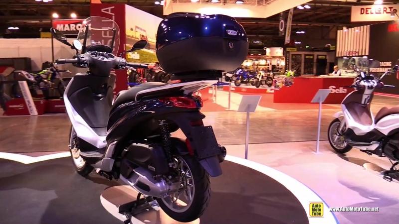 2018 Piaggio Medley 125 Scooter - Walkaround - 2017 EICMA Motorcycle Exhibition