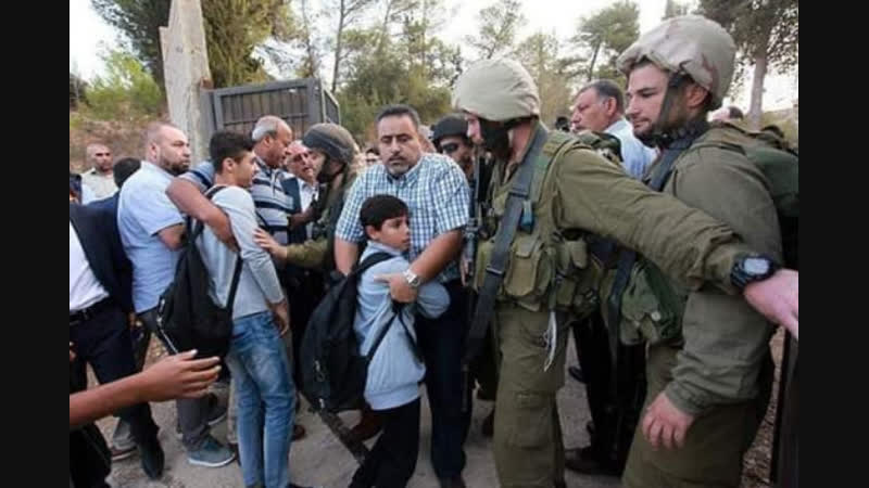 Dure répression suite à la fermeture par Israël d'une école palestinienne à Naplouse