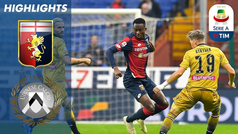 Genoa 2-2 Udinese | Exciting Stalemate In Genova | Serie A