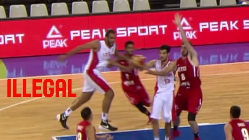 TV.2E.1 - FIBA - travel rule update 2017 - same foot twice - ILLEGAL