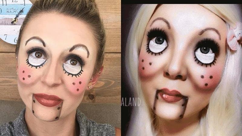 Top Easy Halloween Makeup Tutorials Compilation | Puppet Halloween - Kayla's Beauty Talk