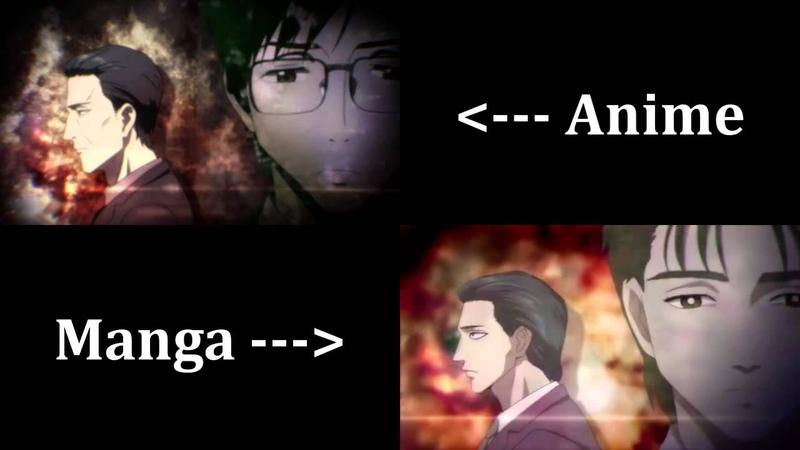 Parasyte - Opening Comparison (Anime Manga Style)