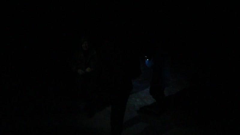 Сжигаем чучело масленицы под перевалом Дятлова