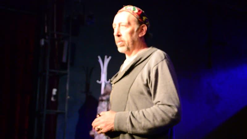 История о том, как создавалась пьеса Старая зайчиха от автора.