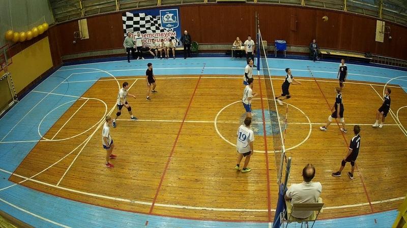 Сертолово - Кингисепп. Первенство ЛО по волейболу 2002-3, Приморск 10.11.2018 1 партия
