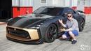 Nissan GT-R50/ГТР50 за 80 млн. рублей - ТЕСТ ДРАЙВ на треке.