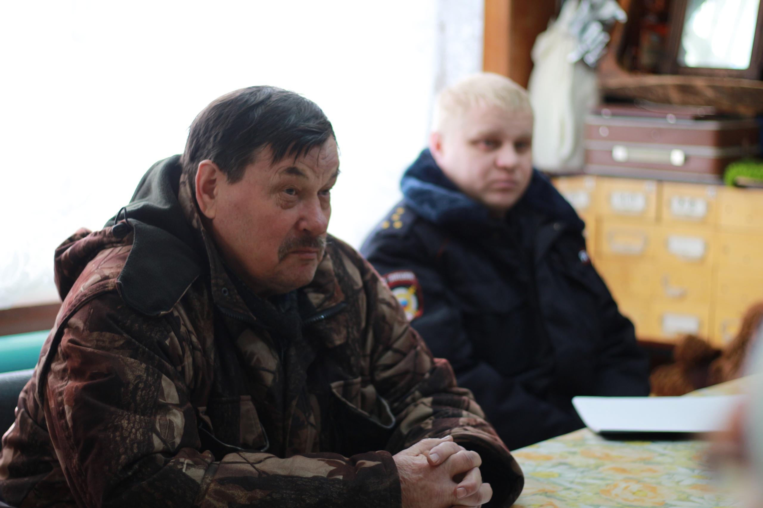 Руководитель администрации Николай Жилин провел встречу с население Благоево и Чима. В Ертоме и Солнечном прошел личный прием