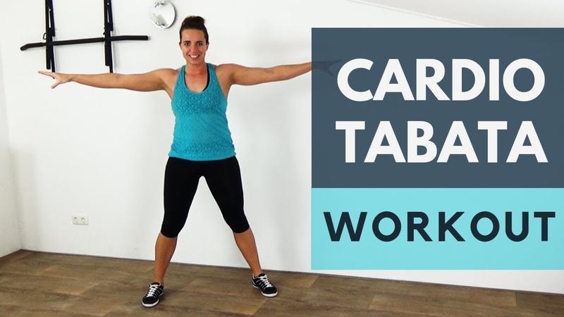 Cardio Tabata HIIT Workout At Home 12 Minute Interval Cardio Tabata Training