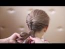 Плетение волос, косичка ' рыбий хвост ' Hair Braid 'Fish Tail'.mp4