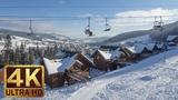Downhill the Ukrainian Carpathians in 4K