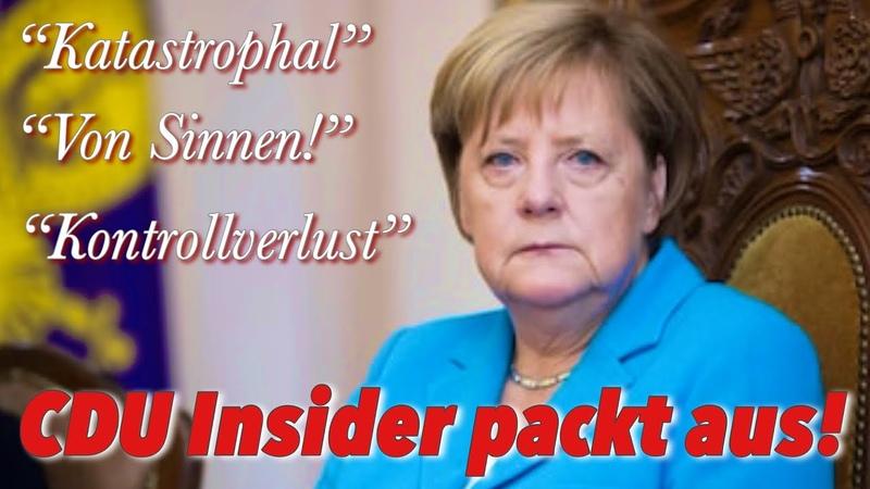 CDU-Insider packt aus: unfassbare Zustände hinter den Kulissen!