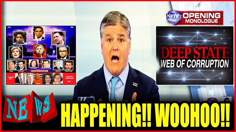 UNBELIEVABLE!! POSSIBLE ARRESTS ON THE WAY After Hannity DECLARED THIS ON LIVE TV!! DEEPSTATE PANIC!