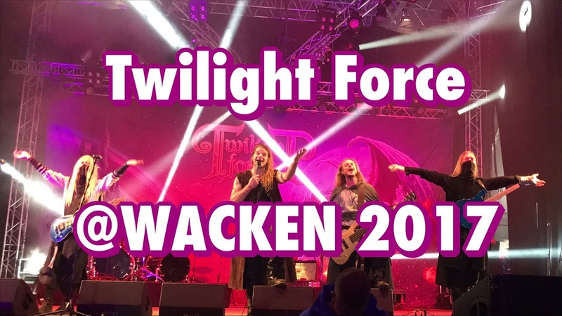 Twilight Force - LIVE - Power Of The Ancient Force - WACKEN 2017.08.05 4K