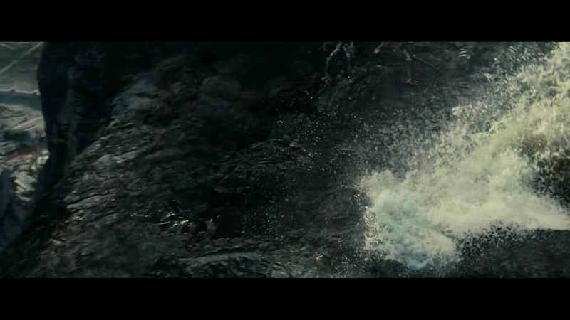 Ents attack Isengard