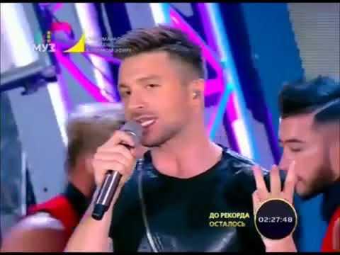 Сергей Лазарев на Супермарафон 20 часов МУЗ ТВ в Вегасе 20 11 2016г