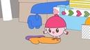 Малышарики - Раскраска для детей - Варежка
