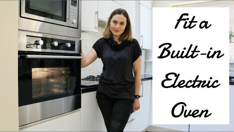 Installing a Single Built-in Electric Oven | The Carpenter's Daughter