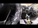 Защита от угона Toyota RAV 4 Пример разбора салона для скрытной установки