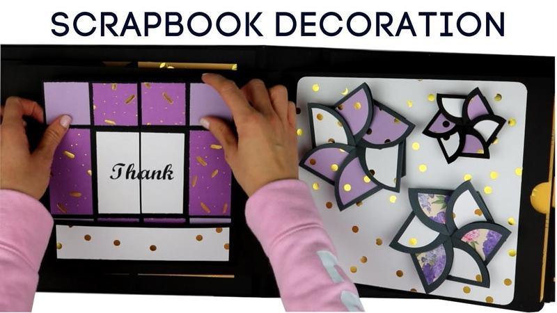 Large Scrapbook Tutorial SCRAPBOOKING IDEAS