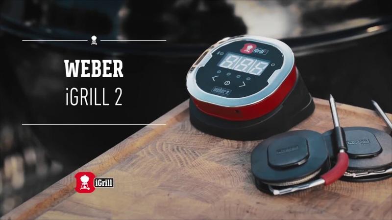 Цифровой термометр для гриля Weber iGrill 2