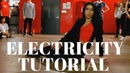 Electricity Dua Lipa DANCE TUTORIAL Dana Alexa Choreography