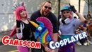 GAMESCOM 2018 Heftige Kostüme coole Leute COSPLAY